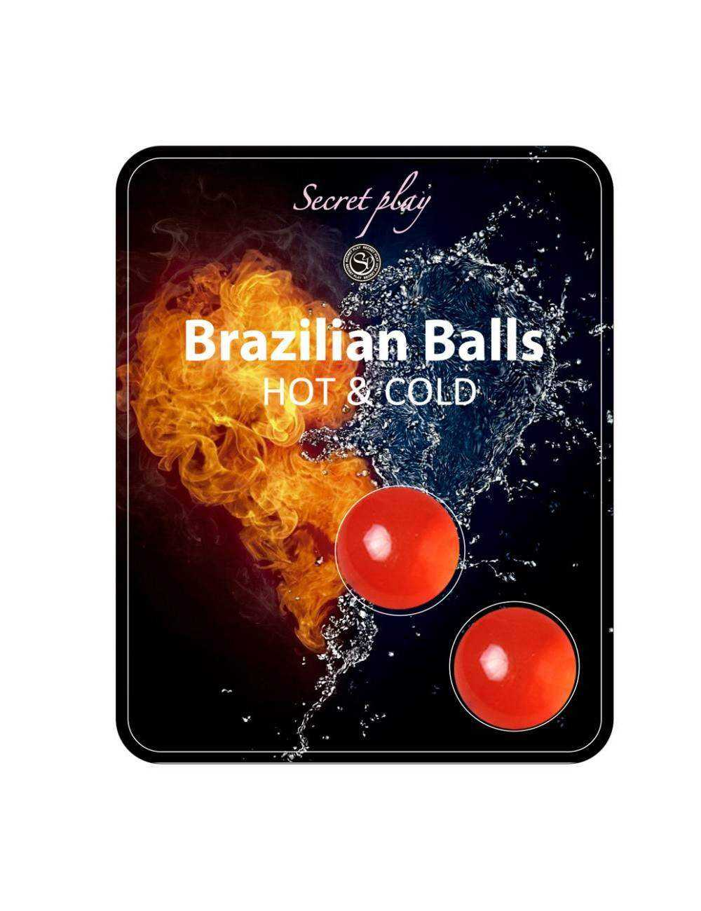 BRAZILIAN BALLS EFECTO CALOR FRIO 2 UNIDADES