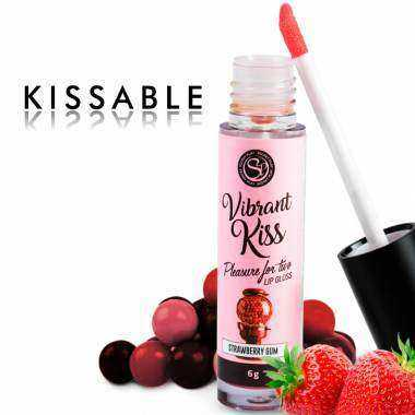 SECRETPLAY LIP GLOSS VIBRANT KISS CHICLE DE FRESA