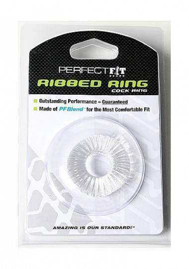 PERFECT FIT RIBBED ANILLO TRANSPARENTE