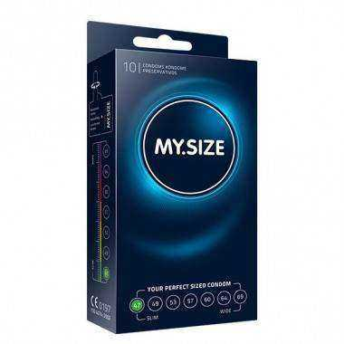 MY SIZE NATURAL CONDOM LATEX 47MM 10UDS