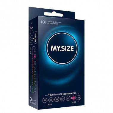 MY SIZE NATURAL CONDOM LATEX 64 MM 10UDS