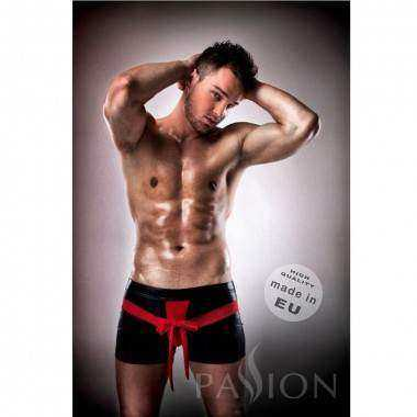 PASSION 001 KOMPLET LEATHER ROJO NEGRO S M