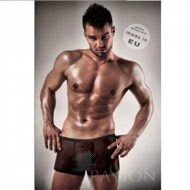 BOXER NEGRO 025 TRANSPARENTE BY PASSION MEN S M