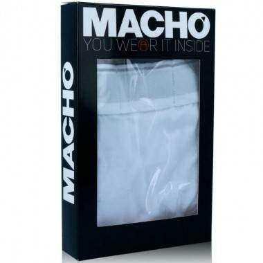 MACHO MC087 BOXER LARGO GRIS TALLA S