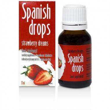 SPANISH FLY STRAWBERRY DREAMS, Aumentar las ganas de follar en la mujer