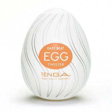 TENGA EGG PACK 6 TWISTER EASY ONA CAP