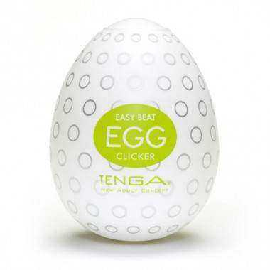 TENGA EGG PACK 6 CLICKER EASY ONA CAP