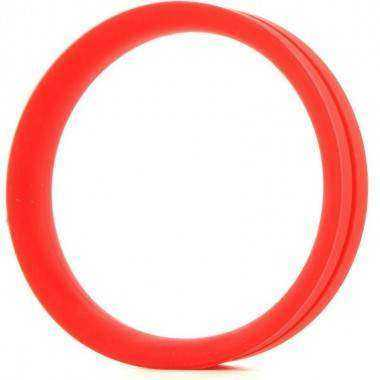 SCREAMING O ANILLO PENE Y TESTICULOS RING O XXL ROJO