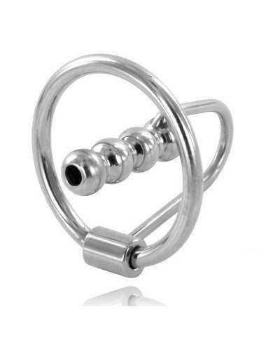 METALHARD ANILLO GLANDE CON PLUG URETRAL 30MM