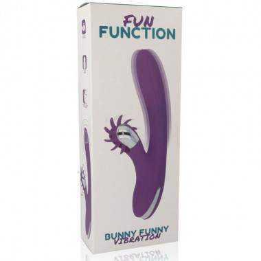 FUN FUNCTION BUNNY FUNNY VIBRATION. Consolador SEXO ORAL barato