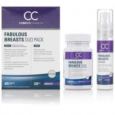 COBECO FABULOUS BREAST DUO AUMENTADOR PECHOS 45CAP30ML