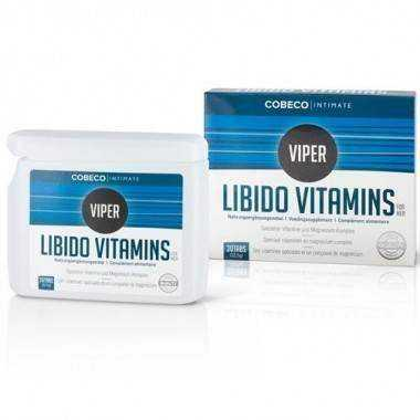 COBECO INTIMATE VIPER LIBIDO VITAMINAS 30 CAP