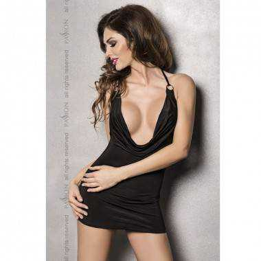 MIRACLE CHEMISE NEGRO BY PASSION WOMAN S M