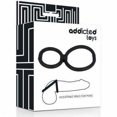 ADDICTED TOYS ANILLAS AJUSTABLE PENE