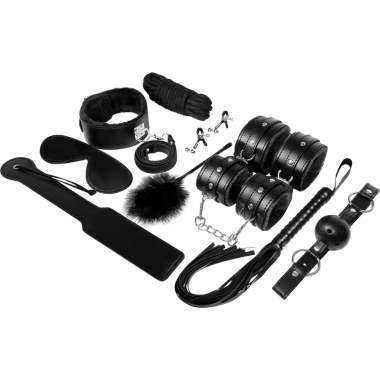 REGALAR BDSM FETISH KIT PAREJAS NEGRO