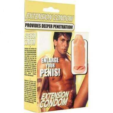 SEVENCREATIONS EXTENSION PARA EL PENE DE LATEX
