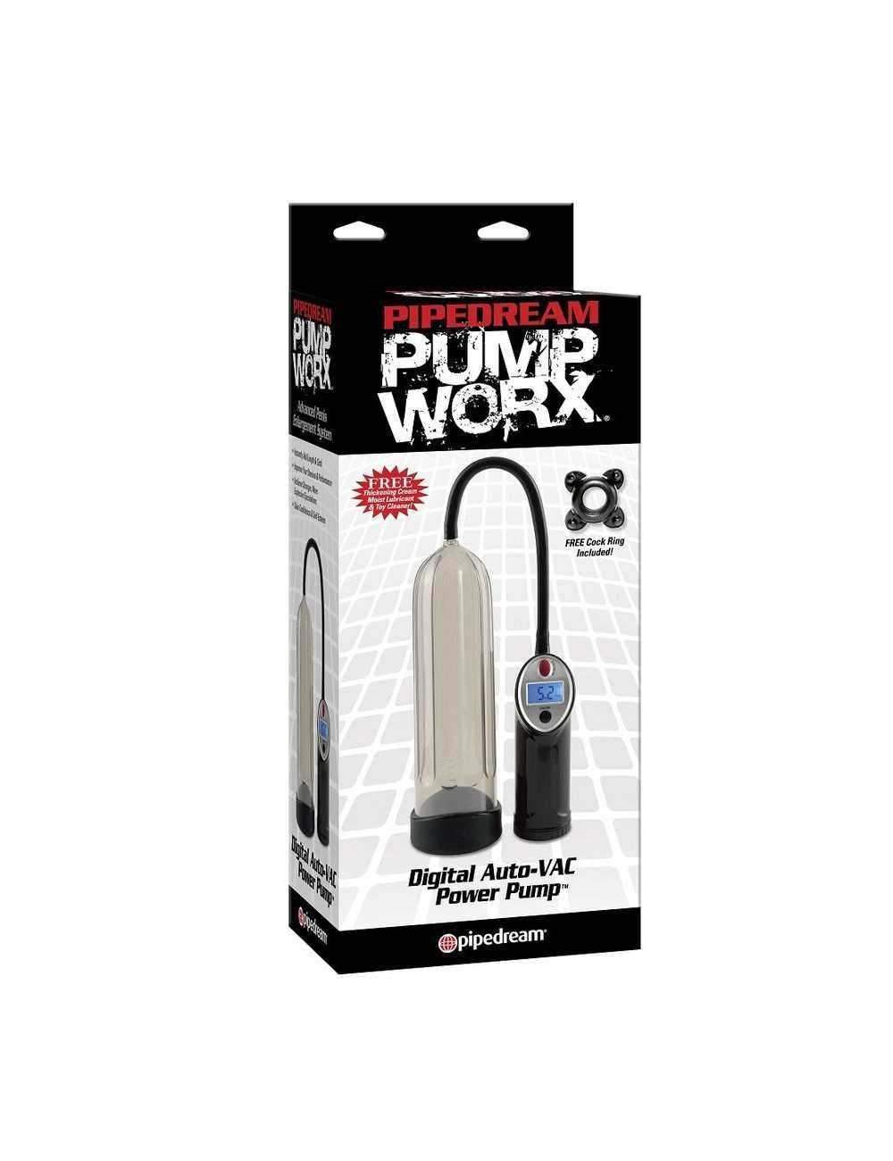 PUMP WORX BOMBA DE ERECCION DIGITAL