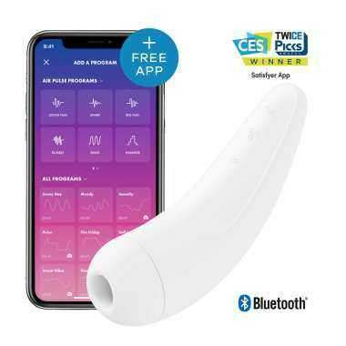 SATISFYER CURVY 2 BLANCO
