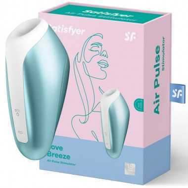SATISFYER LOVE BREEZE SUCCIONADOR CLÍTORIS ICE BLUE BARATO