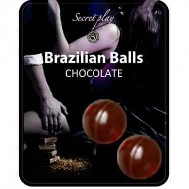 BRAZILIAN BALLS CHOCOLATE SET 2 BOLAS