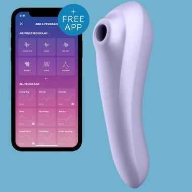 Succionador clitoris y vibrador punto G con app