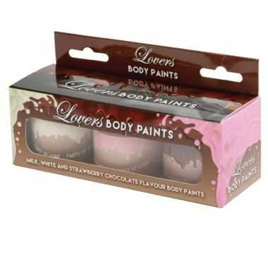 SPENCER AND FLEETWOOD PINTURA CORPORAL DE CHOCOLATE 3 X 60 GR