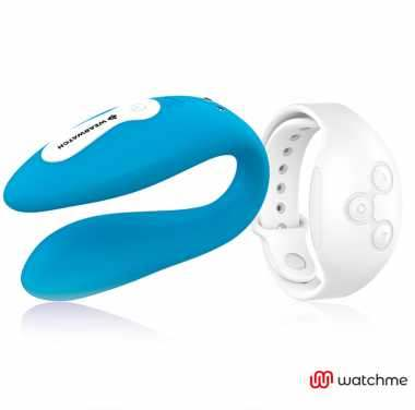 WEARWATCH VIBRADOR DUAL TECHNOLOGY WATCHME AZUL BLANCO