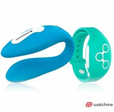 WEARWATCH VIBRADOR DUAL TECHNOLOGY WATCHME AZUL VERDE