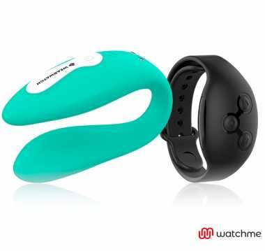 WEARWATCH VIBRADOR DUAL TECHNOLOGY WATCHME AGUAMARINA AZABACHE