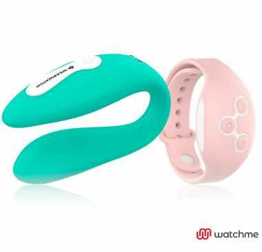WEARWATCH VIBRADOR DUAL TECHNOLOGY WATCHME AGUA MARINA ROSORAL